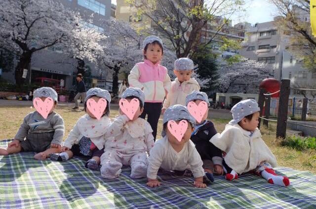 恵比寿の保育園,保育所,ルーチェフェリーチェ,2歳のお誕生日会